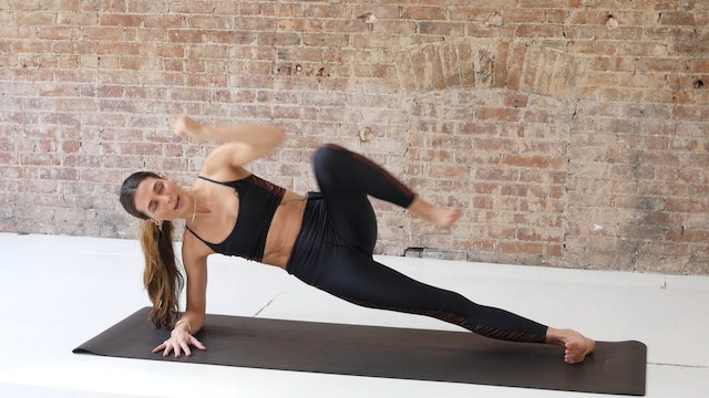 21 Min Full Body Power Flow Using Your Own Body Weight
