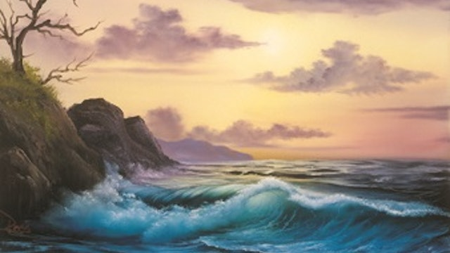"""""""By the Sea-Painting with Bob Ross""""-S5115"""