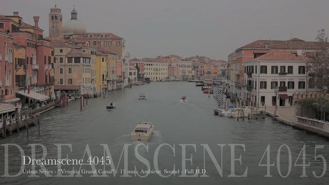 "DS4045 - Urban Series - ""Venezia Grand Canal"" - 15mn - Full HD"