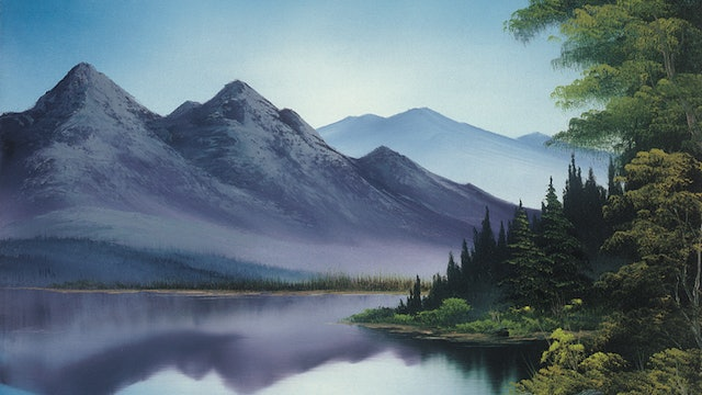 """""""Reflections of Calm""""-Painting with Bob Ross-S5129"""