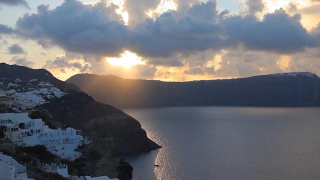"""""""A Day in Santorini""""-S3595"""