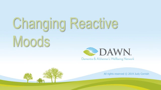 """""""Changing Reactive Moods""""-The DAWN Me..."""