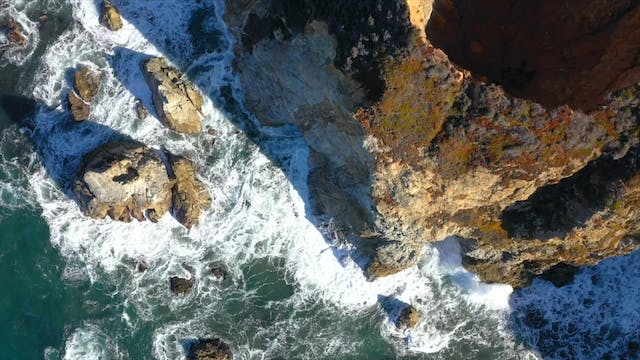 """Big Sur from Above""-S1379"