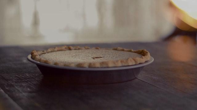 """Making a Pumpkin Pie""-S4254"