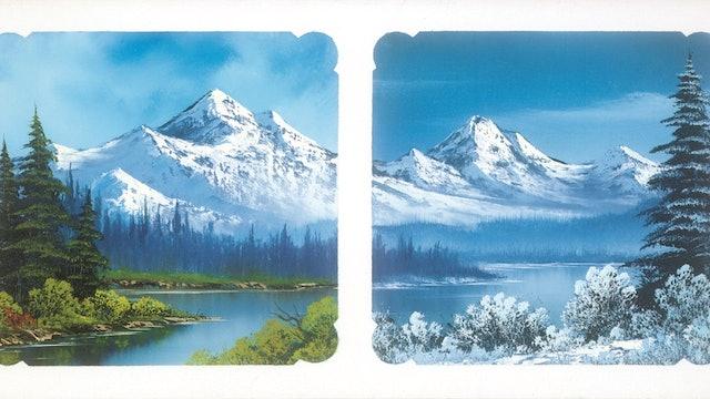"""Seasonal Progression""-Painting with Bob Ross-S5127"