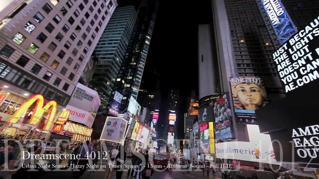 "DS4012 - Urban Series - ""Jazzy Night on Times Square"" - 15mn - Full HD"
