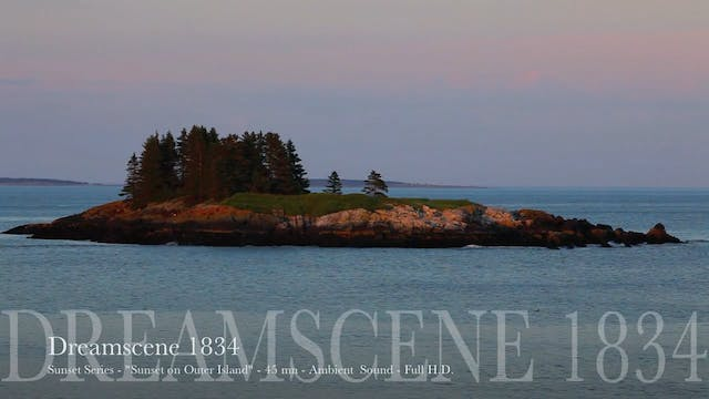 "DS1834 - Sunset Series - ""Sunset on Outer Island"" - 15mn - Full HD"