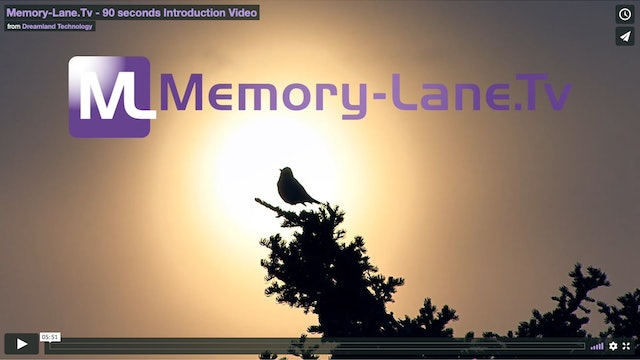 Memory-Lane.Tv   Introduction Video