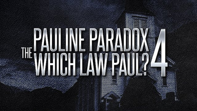 """The Pauline Paradox Part 4 -  """"Which ..."""