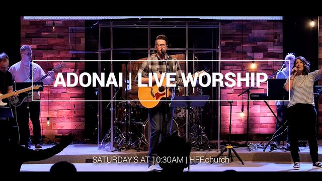 Adonai | Live Worship | HFF