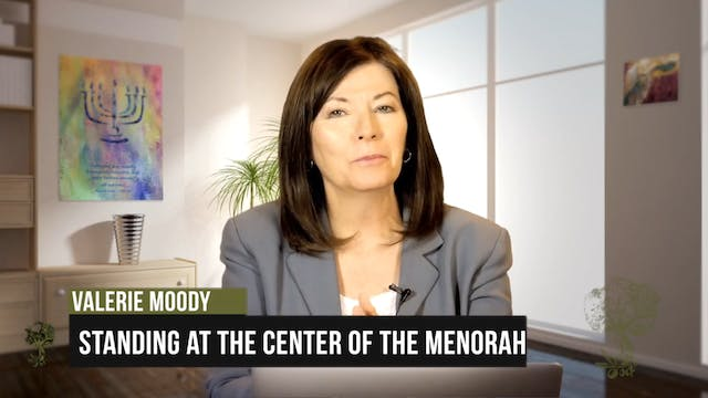Standing At the Center of the Menorah...