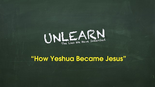 How Yeshua became Jesus (Greek Jesus vs Hebrew Yeshua)