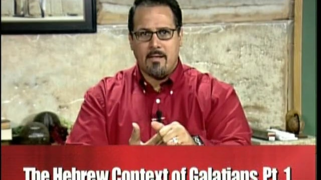 Hebrew Context of Galatians Part 1 | Rico Cortes
