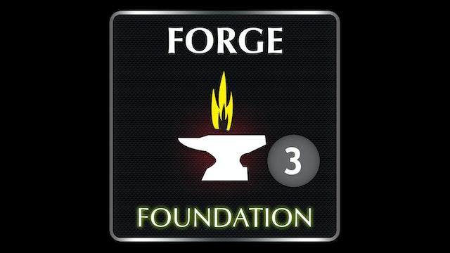 FORGE  Foundation  3