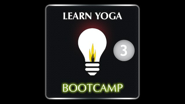 LEARN YOGA BOOTCAMP 3