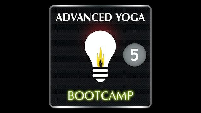 ADVANCED YOGA BOOTCAMP 5