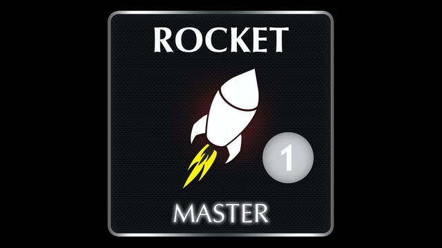 ROCKET  Master Series 1 AUDIO CLASS