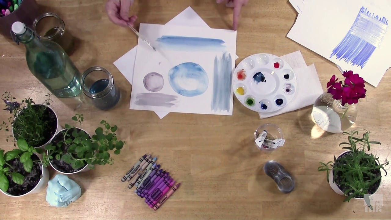Studio Art Tutorial: Color and Composition