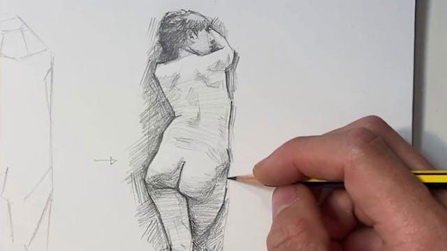 Studio Art Tutorial: Drawing the Nude...