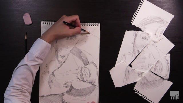 Studio Art Tutorial: Experimental Drawing