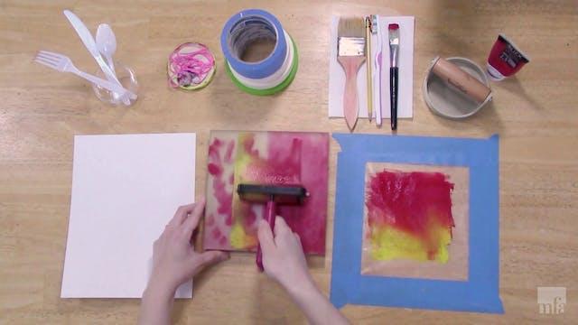 Studio Art Tutorial: Monoprints