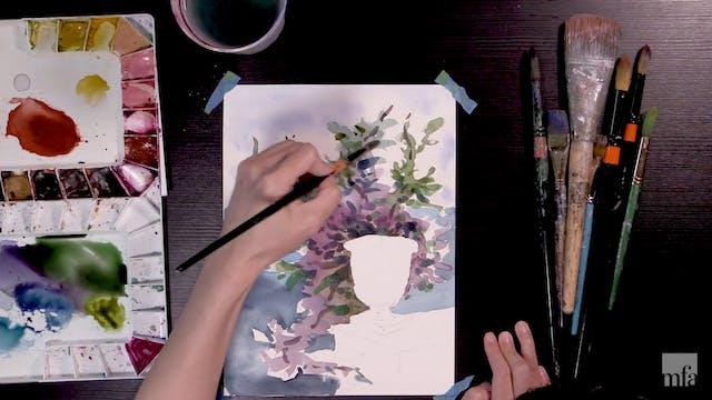 Studio Art Tutorial: Watercolor Landscapes