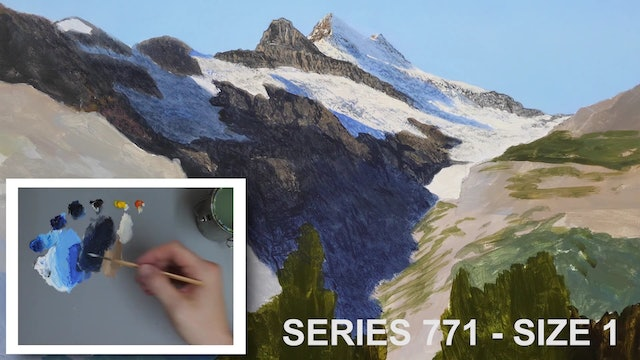 How To Paint a Mountain Part 3