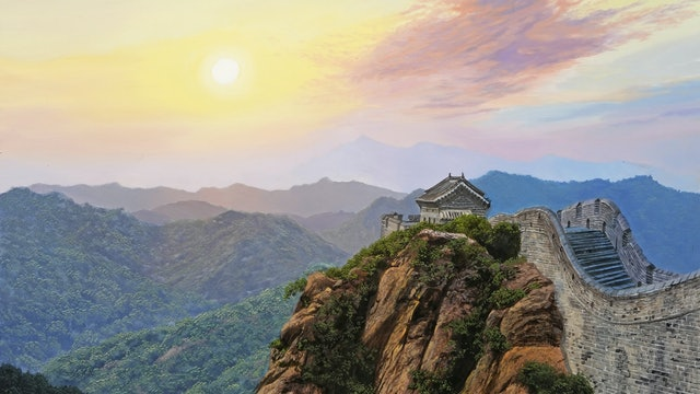 How to Paint the Great Wall of China