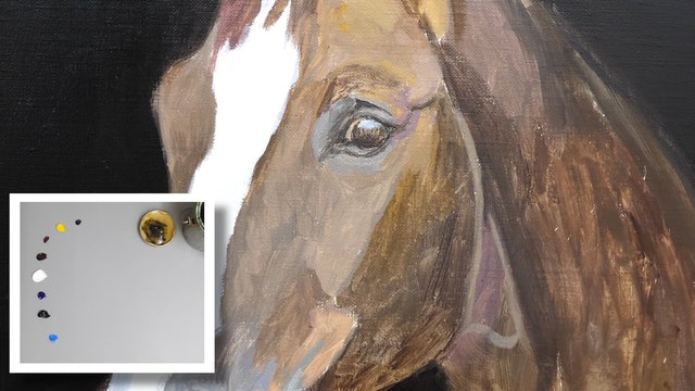 How To Paint a Horse Part 2
