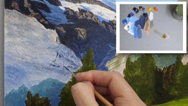 How To Paint a Mountain Part 4