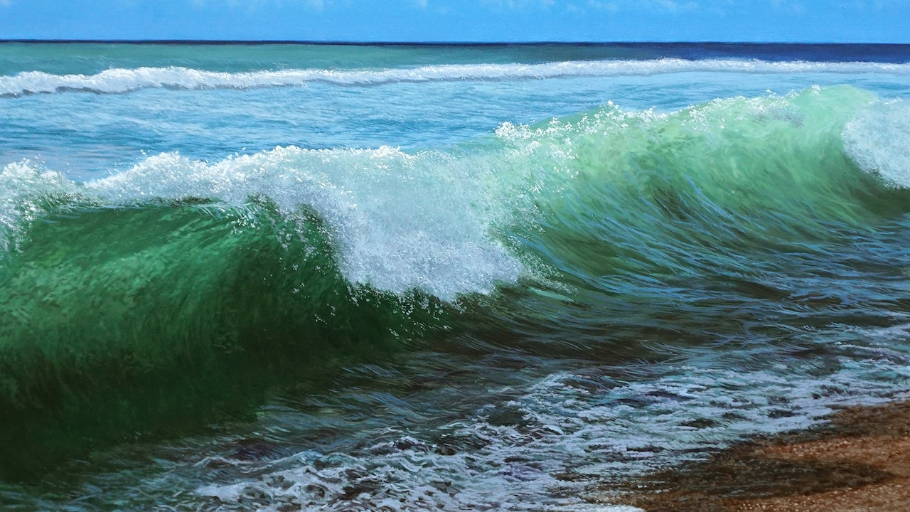 How To Paint a Wave