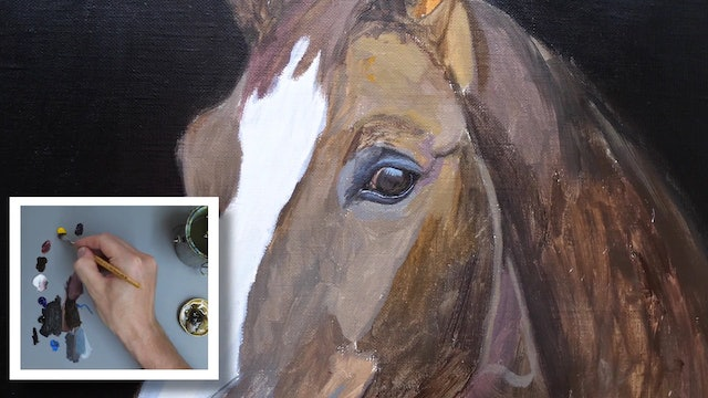 How To Paint a Horse Part 3