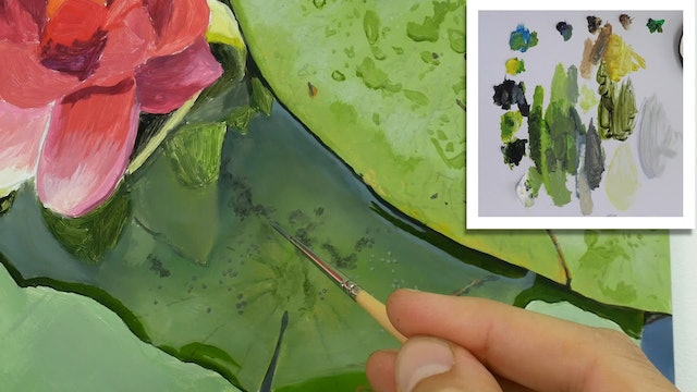 How To Paint a Lily Flower Part 4