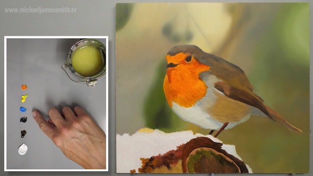 How To Paint a Robin Part 3