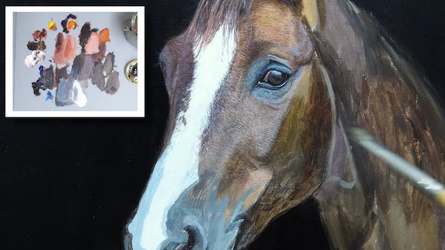 How To Paint a Horse Part 7