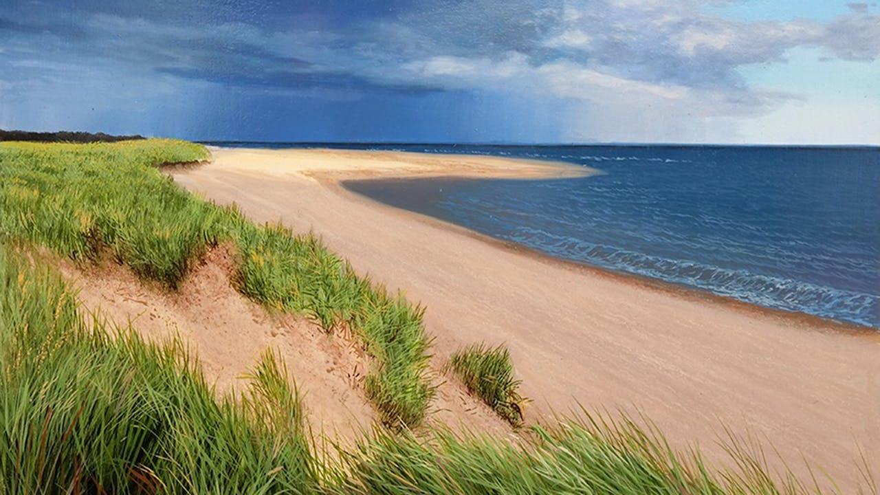 How to Paint a Coastal Scene