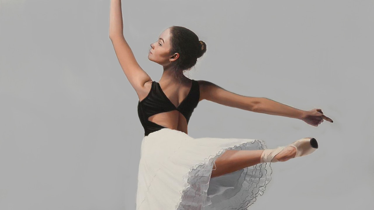 How To Paint a Ballerina