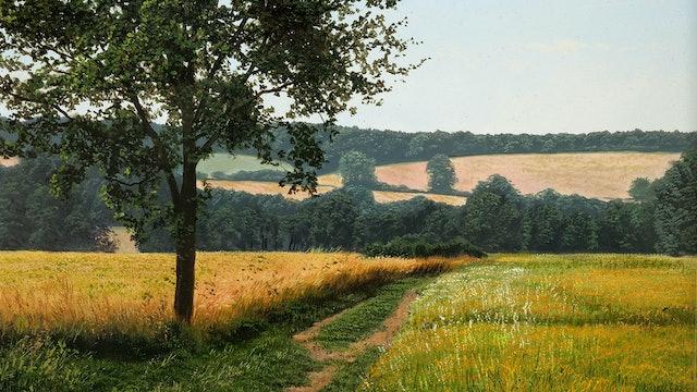 How To Paint a Simple Landscape