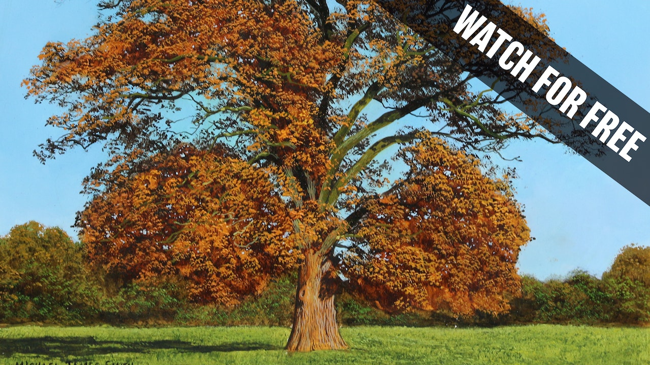 How to Paint an Autumn Tree
