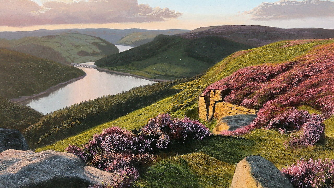 How To Paint a Distant Landscape