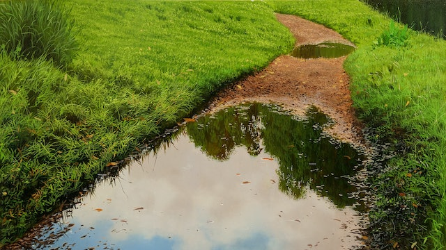 How to paint a Puddle