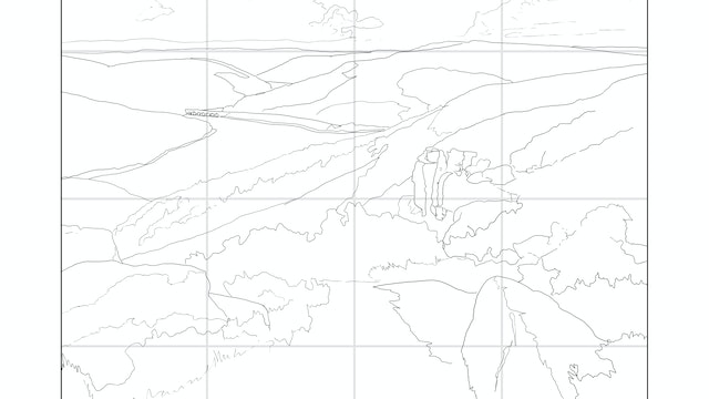 How to Paint a Distant Landscape Sketching Diagram.jpg