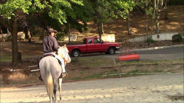 Firing a gun off your horse safely