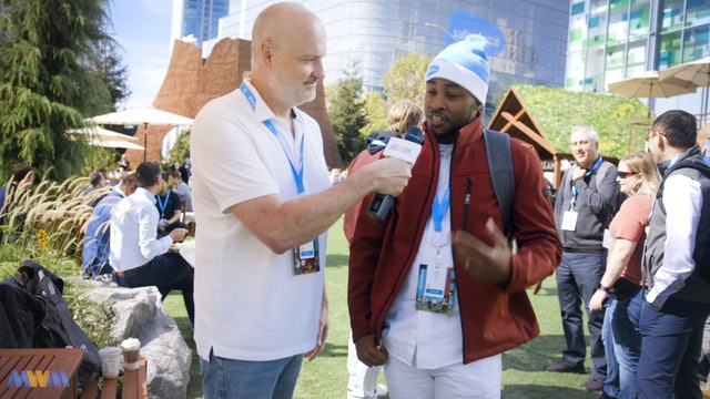 Salesforce Student Earl Major Shares His Career Journey at Dreamforce 2018