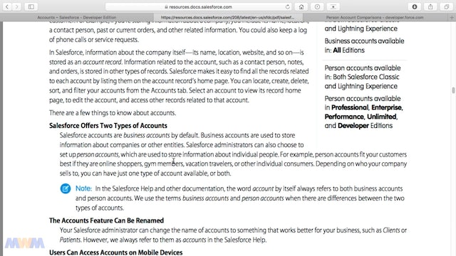 Implementing Person Accounts