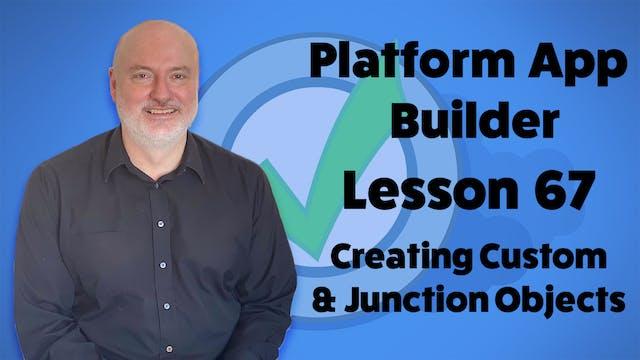 Lesson 67 - Creating Custom & Junctio...