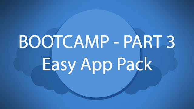 Salesforce Bootcamp Part 3 - Easy App Pack