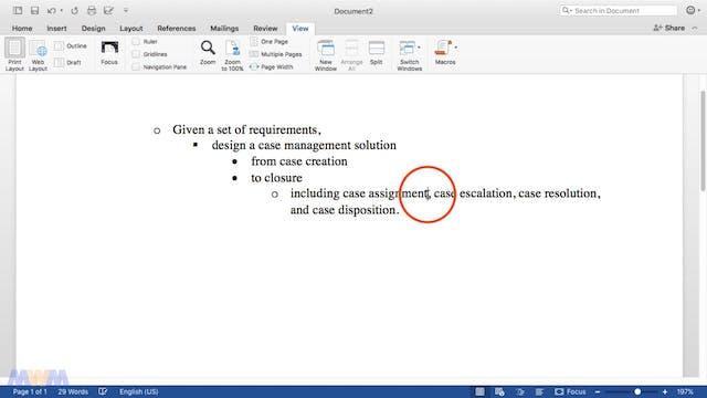 Designing a Case Management Solution