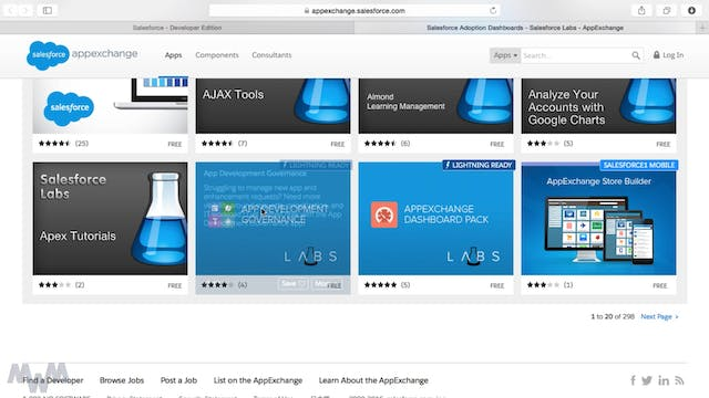 AppExchange - The App Store for Sales...