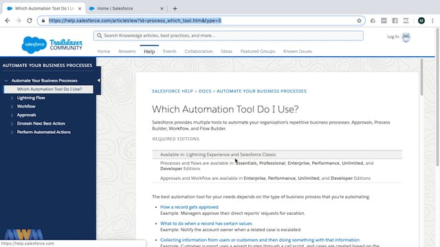 Which Automation Tool to Use